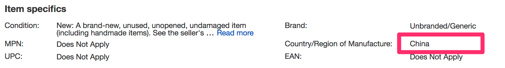 item_specifics